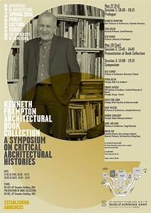 Kenneth Frampton Architectural Book Collection: A ...