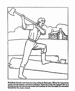 lincoln coloring pages - 17 best images about abraham lincoln on pinterest early