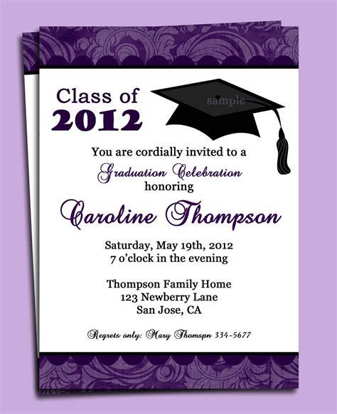 invitation for graduation party Graduation party