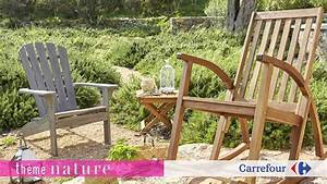 Meuble De Jardin Carrefour : 17 best images about ambiances jardin terrasse balcons on pinterest nature bar and tables ~ Teatrodelosmanantiales.com Idées de Décoration