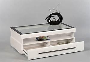 Couchtisch Weiß Mit Glasplatte : gitte couchtisch wei mit glasplatte und schubkasten ~ Whattoseeinmadrid.com Haus und Dekorationen