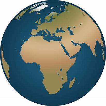 Globe Clip Clipart Earth Europe Drawing Africa
