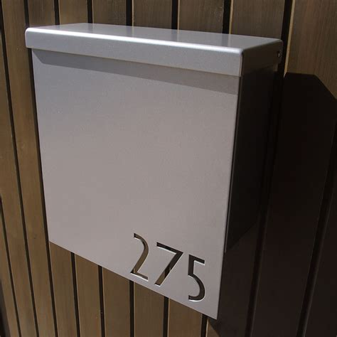 address plaques contemporary mailboxes indianapolis  moda industria