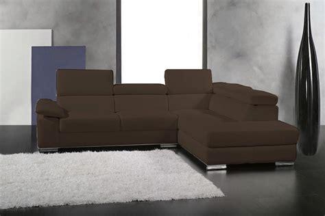 canapé d angle cuir chocolat canapé d 39 angle petit helsinki en cuir haut de gamme