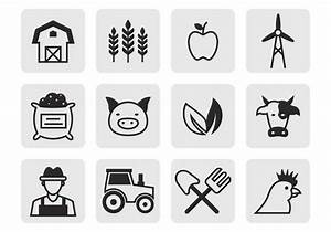 Free Agricultural Icons Vector - Download Free Vector Art ...