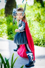 Cosplay Thor Girl Costume