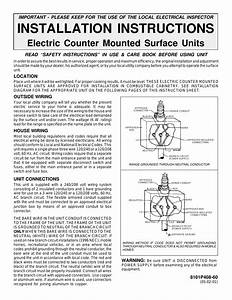 Maytag Cse9000ace Installation User Manual