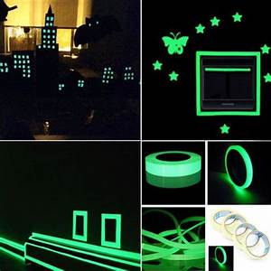 Tapete Die Im Dunkeln Leuchtet : folienklebeband phosphoreszierende leucht die im dunkeln leuchtet online ~ Frokenaadalensverden.com Haus und Dekorationen