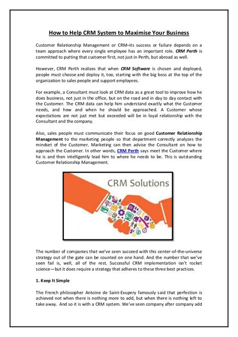 Jual Aborsi Cilacap How To Help Crm System To Maximise Your Business