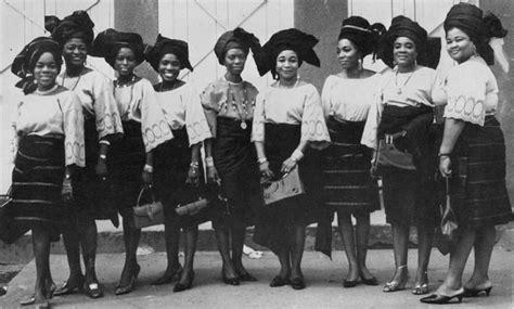 Pre-independence Yoruba Women - Culture (1) - Nigeria
