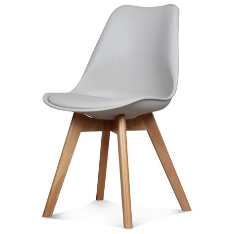 chaises taupe chaise scandinave taupe