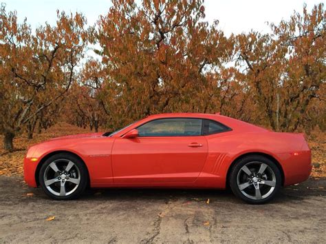 2012 Chevy Camaro Rally Orange V6- 323 Hp With Lt2 Rs
