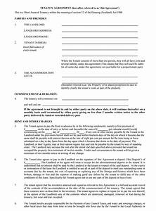 tenancy agreement templates free download edit print With letting agreement template free