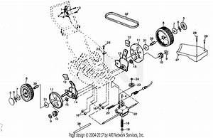 Poulan Pp750pka Mower Parts Diagram For Drive Assembly