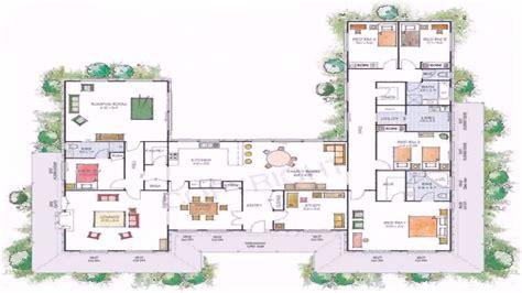 design floor plans for homes free house plans u shaped floor plan