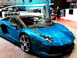 Custom Car Paint Job Lamborghini