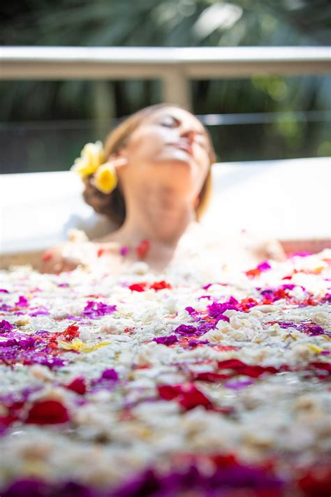 Bali Flower Bath Lush To Blush