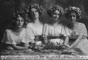 The world of old photography: Frank Eugene: Four Sisters ...