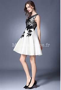 robe de soiree courte effet ballon With robe de cocktail combiné avec bracelet cuir noir