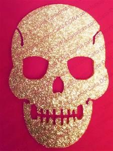 Coussin Tete De Mort : sticker thermocollant tete de mort scintillant pour customiser les textiles sacs pochettes ~ Teatrodelosmanantiales.com Idées de Décoration