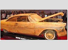 1957 plymouth belvedere time capsule side view NO Car NO