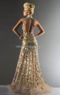 2013 dhgate prom dresses new elegant gold crystals