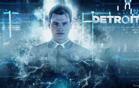 Connor can synthesize any voice right? Wallpaper Android, Detroit, Connor, Detroit, Detroit ...