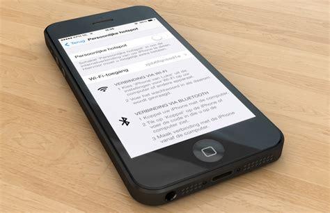 iphone 5s hotspot iphone tethering instellen iphone hotspot maken