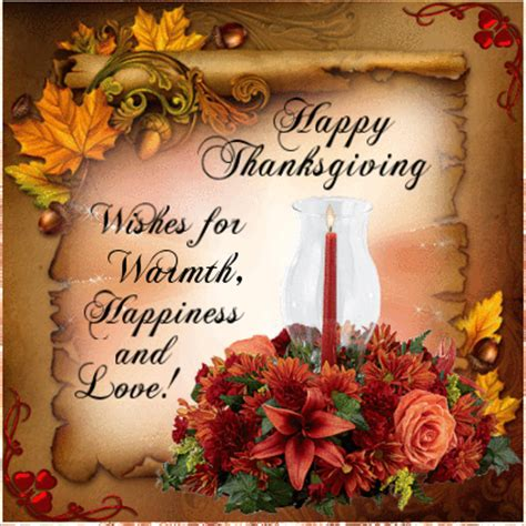 happy thanksgiving wishes warmth happiness love pictures images