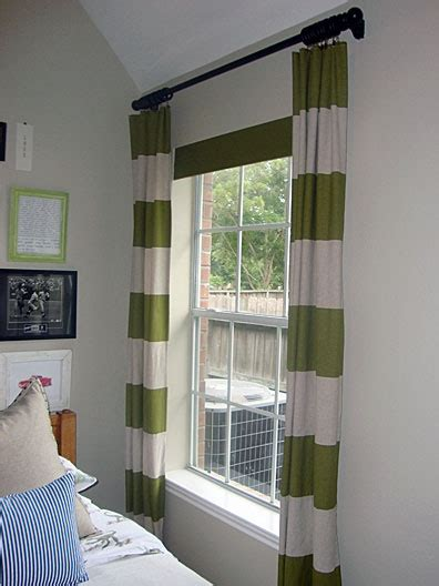 remarkable ways to inspire with striped curtains