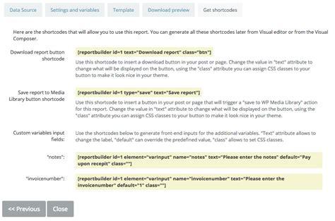 Creating An Excel Xlsx Report In Wordpress  Report Builder