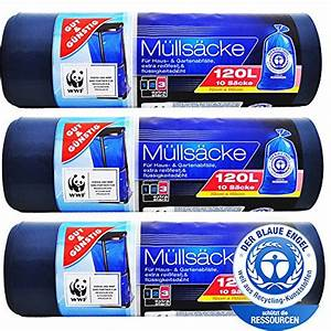 Müllsäcke 500 Liter : m llsack 120 liter typ 60 blau 700 x 1100 mm 39 my ve ~ Watch28wear.com Haus und Dekorationen