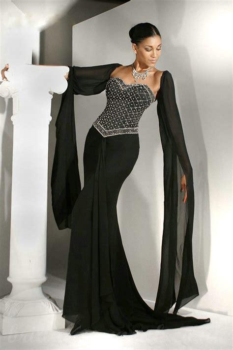 black sleeve wedding dresses sleeve black wedding dress