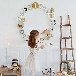 Fabriquer Un Calendrier De L Avent : fabriquer un calendrier de l avent en forme de couronne ~ Nature-et-papiers.com Idées de Décoration