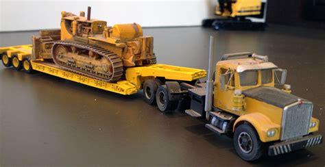 Image Gallery lowboy tractor trailer