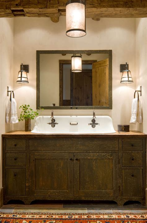 Bathroom Vanity Ideas by 35 Best Rustic Bathroom Vanity Ideas And Designs For 2019