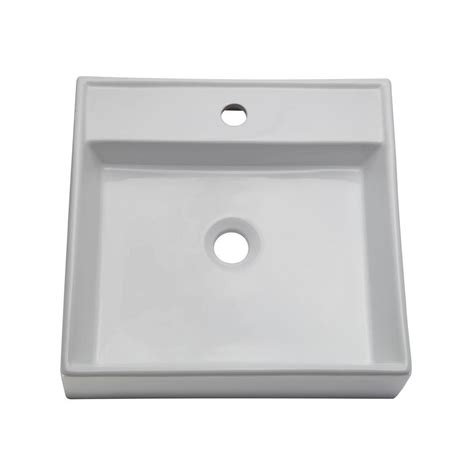 Decolav Sinks Home Depot by Decolav Classically Redefined Vessel Sink In White 1464