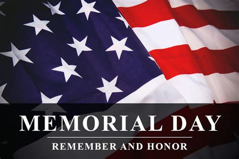 Memorial Day Honor and Remember