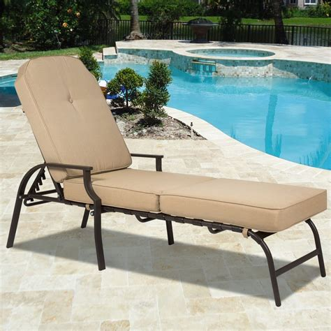 chaise de luxe design home decor cool pool chaise lounge best choice products