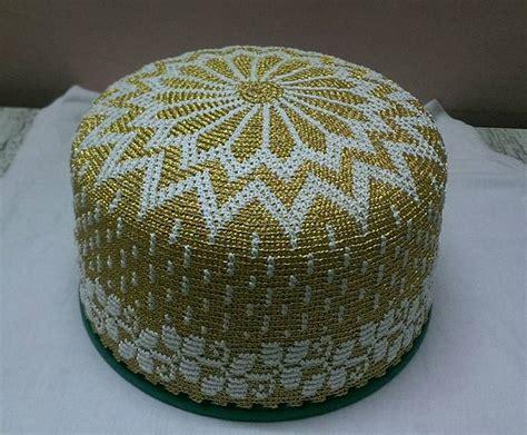 bohra design golden kasab topi dawoodi bohra topi design