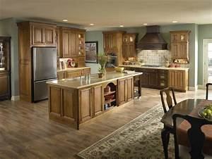 Top 10 Kitchen Colors With Oak Cabinets 2017 - MYBKtouch com