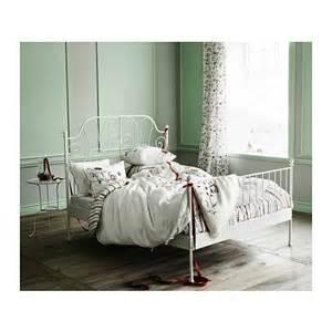 leirvik bed frame white lur 246 y katalogue