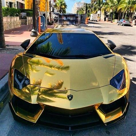 Golden Aventador!| Follow