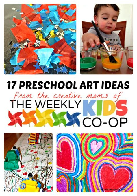 creative art lesson plans for preschoolers 17 creative preschool ideas from the weekly co op 372