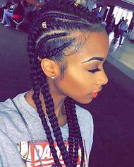 Side Cornrow Braids Hairstyles