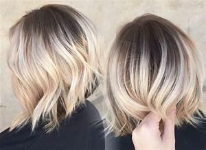 Blonde Mittellange Haare : mittellange haare ombre blond moderne m nnliche und weibliche haarschnitte und haarf rbungen ~ Frokenaadalensverden.com Haus und Dekorationen