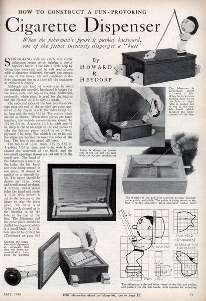 Cigarette Boat Inventor by Popular Science May 1936 Modern Mechanix
