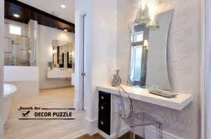 unique small bathroom ideas modern dressing table designs with mirror for
