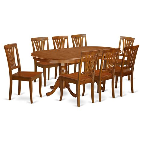 kitchen table 8 chairs 9 piece dining room set dining table with 8 kitchen dining
