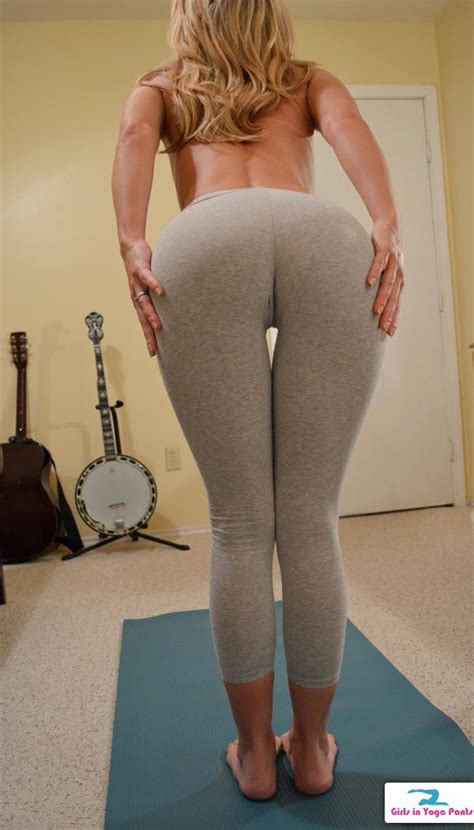 Hot Blonde Lesbian Yoga